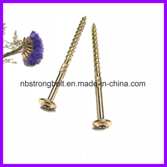 Tornillo de construcción para madera con torx Wafer Head / China screw factory, China screw manufactuer